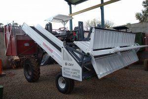 Lory Maquinas comenzó la producción en serie de su cosechadora de yerba mate