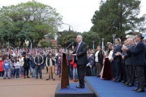 """""""En este momento tan difícil, la Patria nos necesita unidos"""", subrayó Passalacqua al evocar la gesta de Mayo"""