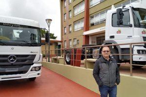 Alem sigue modernizando el Parque vial Municipal