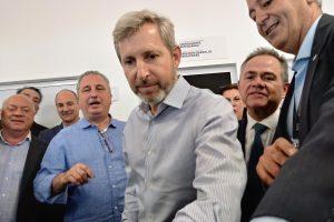 Passalacqua y Frigerio inauguraron el sector de egreso del centro de frontera Posadas- Encarnación