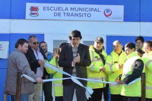 """Losada: """"Pudimos cumplir el gran anhelo de tener la Escuela Municipal de Tránsito propia"""""""