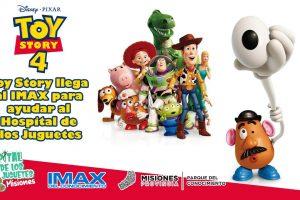 El Hospital de los Juguetes se muda al IMAX del Conocimiento para la proyección de Toy Story 4