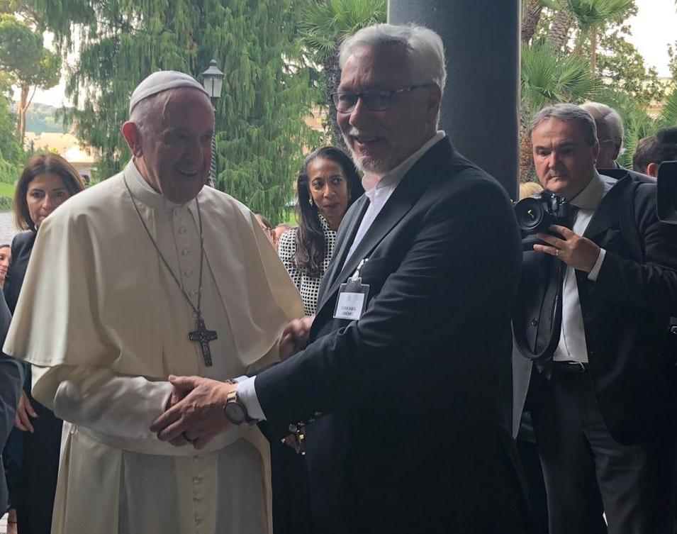 """César Jiménez: """"El Papa está preocupado por la destrucción de una parte de la justicia"""""""
