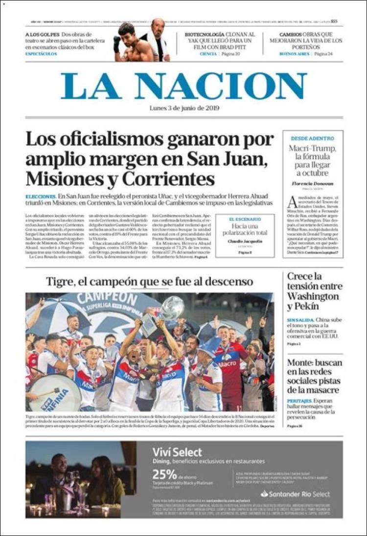 Las tapas del lunes 3 de junio: Cómo reflejaron los diarios de Capital y el resto del país la elección de ayer