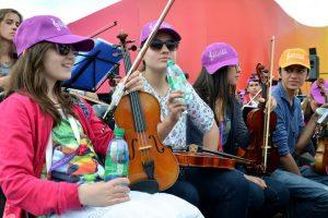 """Iguazú en Concierto: los jóvenes músicos del mundo beberán """"Agua de las misiones"""""""