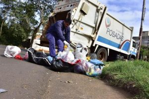 El municipio recolecta 300 toneladas de residuos domiciliarios por día