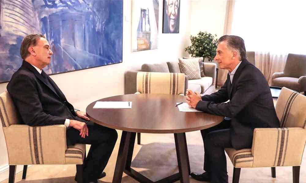 Macri anunció que Pichetto será su compañero de fórmula