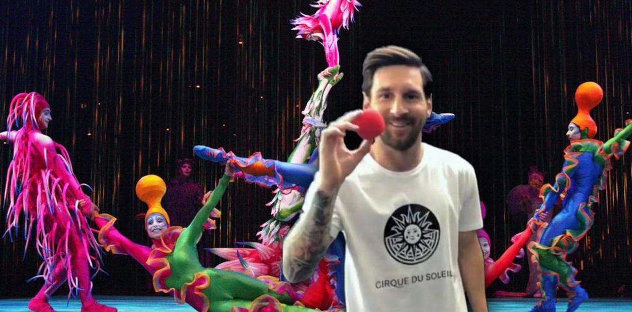 La Liga y Messi10 by Cirque du Soleil se unen en una experiencia interactiva única que permitirá ser Messi por un día