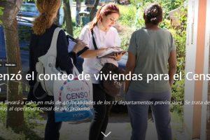 Comenzó el conteo de viviendas para el Censo 2020