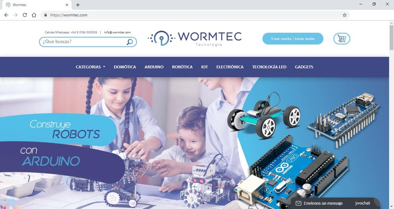 Wormtec, la primera e-commerce misionera de tecnología y electrónica