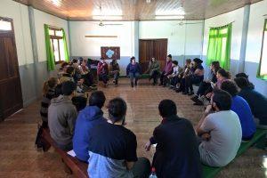 Actores y actrices del NEA se perfeccionan en Puerto Esperanza, convocados por el INT