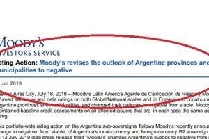"""Por """"culpa"""" de la Nación, Moody's le bajó la nota a Misiones y a otras siete provincias"""