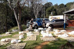 Prefectura incautó 700 kilos de marihuana en Iguazú
