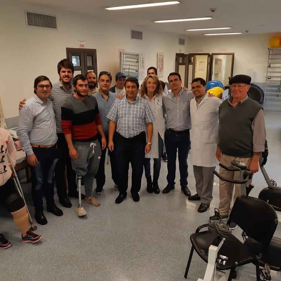 Parque de la Salud: siete misioneros mejoran su calidad de vida a través de una prótesis