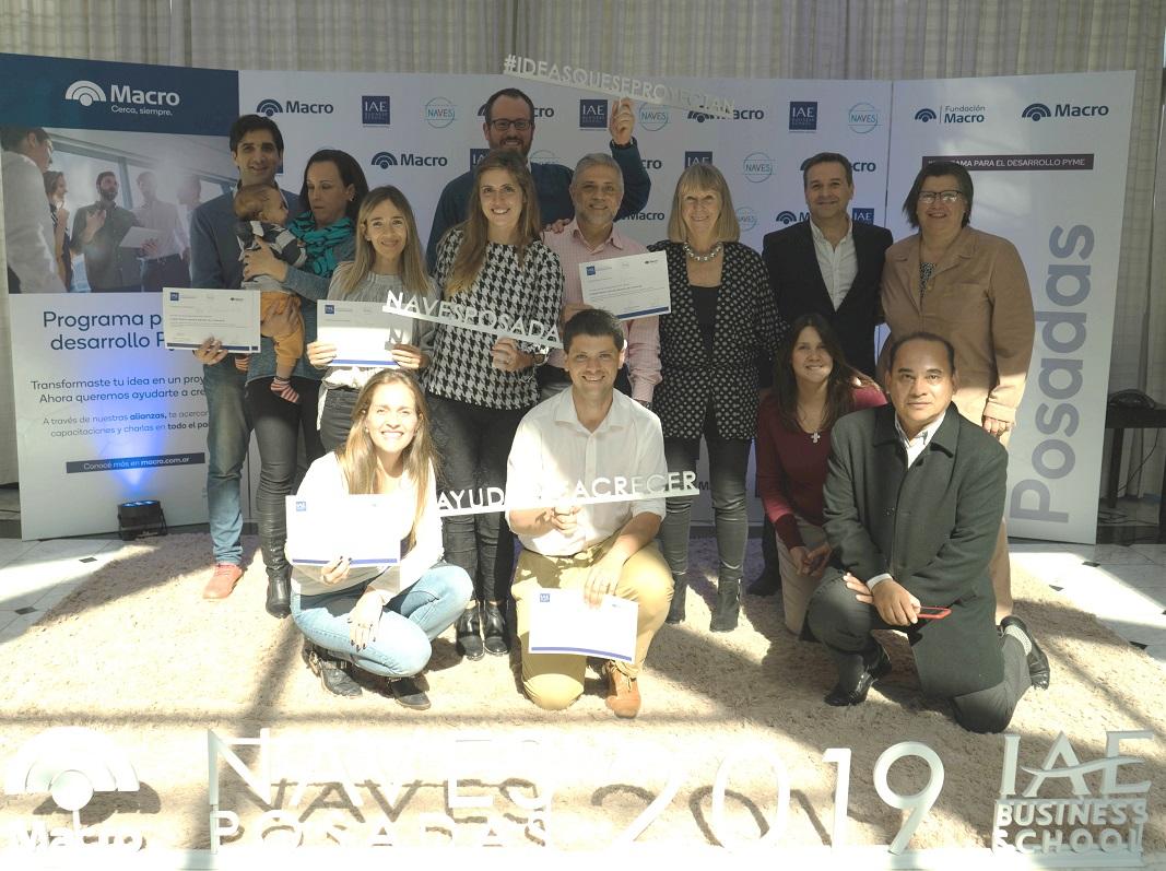 El Banco Macro cerró una nueva etapa del programa Naves en Misiones