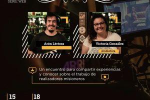 La cocina del cine, darán una charla sobre cómo se realizó la serie web «La Encrucijada»