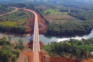 Finalizaron obras de seguridad en el puente Canal Torto