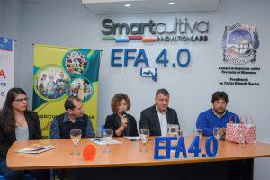 EFA 4.0: Acuerdan actividades para automatizar tareas agrícolas