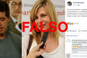 Es falso que uno de los condenados por el asesinato de Cabezas es asesor parlamentario de una candidata del Frente de Todos