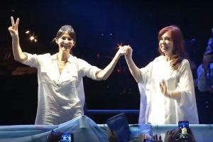 Fuerte respaldo de Cristina Kirchner a la lista del Frente de Todos en Misiones