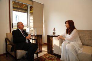 Cristina Fernández y Passalacqua coincidieron en los temas más urgentes del país