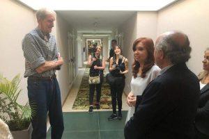 En la previa de Sinceramente, Cristina se encontró con Finito Gehrmann y habló de Maradona