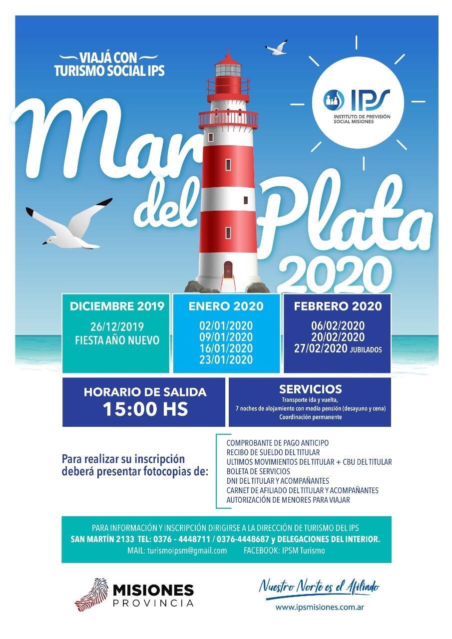 Se presentó la temporada de turismo del IPS 2019-2020