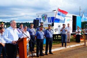 Passalacqua anunció la compra de un moderno helicóptero para la Policía