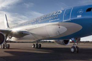 Aerolíneas se prepara para competir con las «low-cost» mostrando un crecimiento fuerte en pasajeros