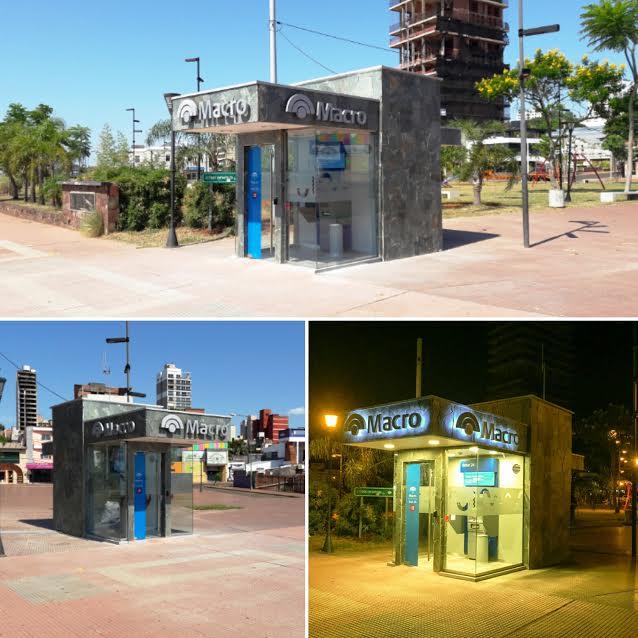 El Banco Macro inauguró un cajero automático en la costanera de Posadas