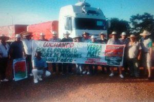 Yerbatazo: Salió el camión con las 30.000 bolsitas de yerba rumbo a la Capital Federal
