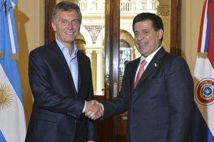Macri se reunirá con Cartes el próximo jueves en Asunción
