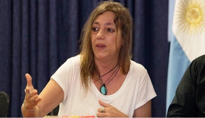 Tiki Marchesini: «La lista es larga, tan larga como las lágrimas de las familias que esperan justicia»