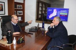 Passalacqua repasó agenda de trabajo con el ministerio de Industria