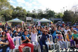 """Fachinal disfrutó de las actividades que ofrece """"Barrio Feliz"""""""