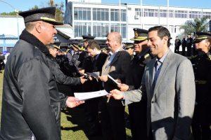 Más de 300 policías fueron distinguidos por su destacado desempeño