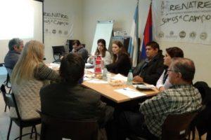 Renatre Misiones participó de la reunión cuatripartita regional
