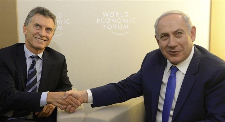 Otra personalidad mundial: Macri recibirá esta semana a Benjamín Netanyahu