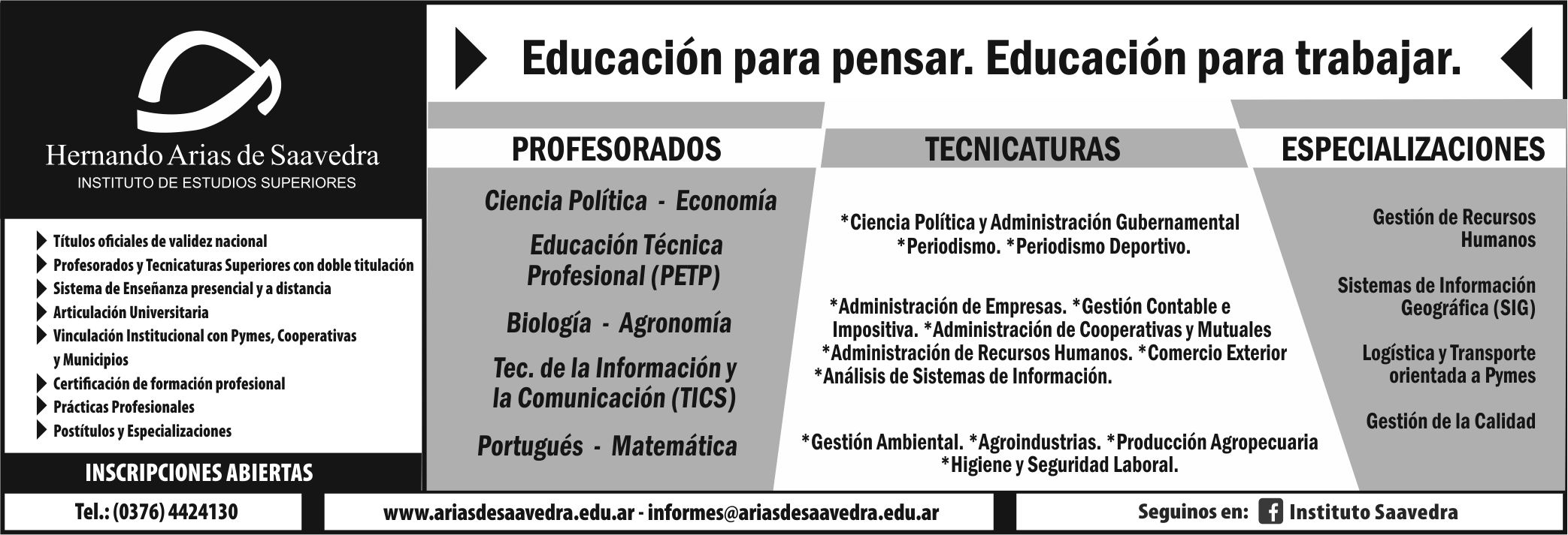 INSTITUTO DE ESTUDIOS SUPERIORES HERNANDO ARIAS DE SAAVEDRA