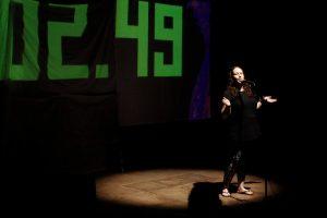 Teatro y Slam de poesía en el Cidade