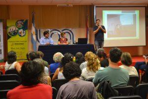 Cerca de un centenar de personas asistieron al primer taller de agroecología urbana