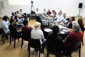 La Multisectorial Audiovisual del NEA se reunió con el Presidente del INCAA