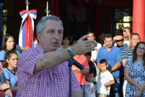 Passalacqua inauguró el CEP 52 y un polideportivo en Colonia Delicia