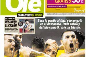 Las tapas de los diarios del jueves 12/4: El perdón de Francisco a Chile y el gol salvador de Carlitos