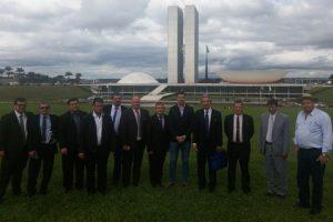 Cumbre de intendentes en Brasilia por el puente Alba Posse-Porto Mauá