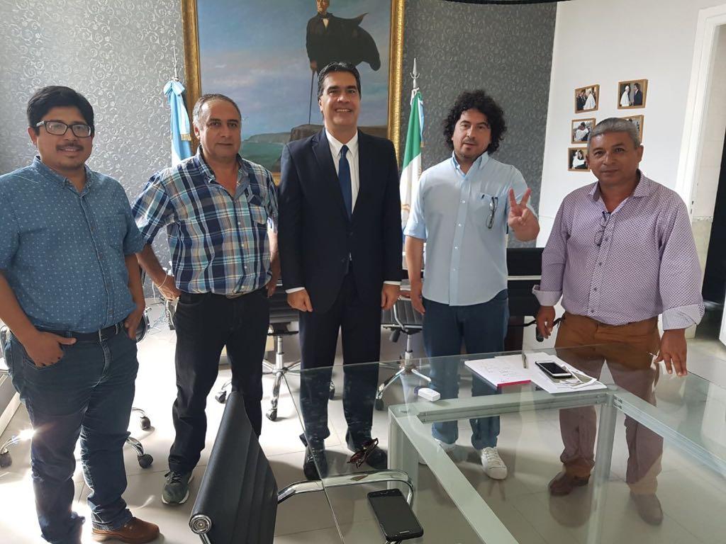 Dirigentes políticos misioneros se reunieron con Capitanich