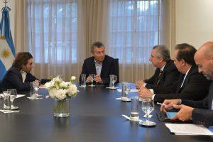 Passalacqua y Macri anunciaron oficialmente la llegada de Air Europa con el vuelo Puerto Iguazú-Madrid