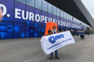 Joven empresario de la CEM expuso en Congreso Económico Europeo