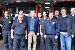 Macri llamó a «seguir juntos construyendo la Argentina»