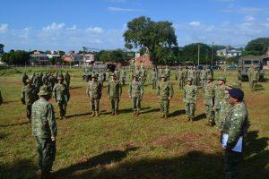 La Brigada de Monte XII realiza unejercicio de planeamiento en Posadas
